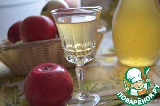Рецепт: Яблочная настойка