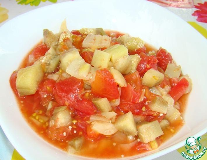 Рецепт: Салат к шашлыку