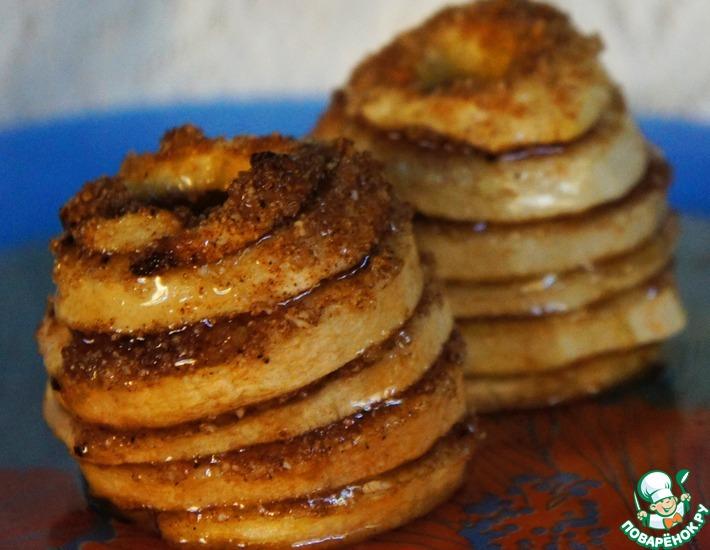Рецепт: Пахлава из яблок