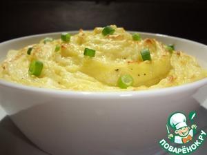 Картофельное пюре с трюфельным маслом – кулинарный рецепт