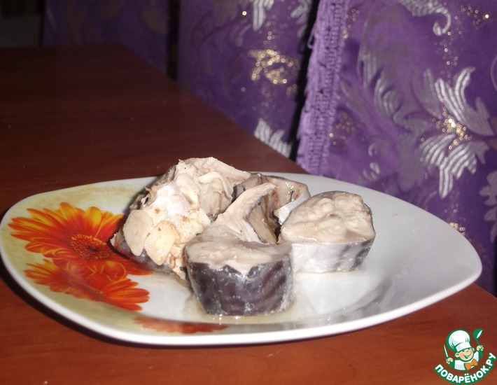 Рецепт: Слабосоленая скумбрия