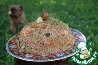 Рецепт: Рис с овощами
