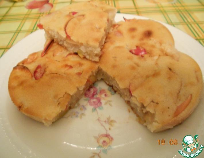 Рецепт: Постный яблочный пирог Отдых хозяюшки