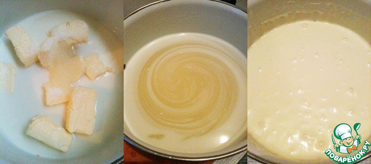 Торт с молочной начинкой