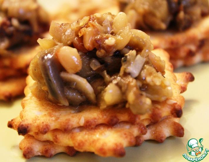 Рецепт: Закуска из баклажанов