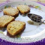 Печенье с цветками лаванды