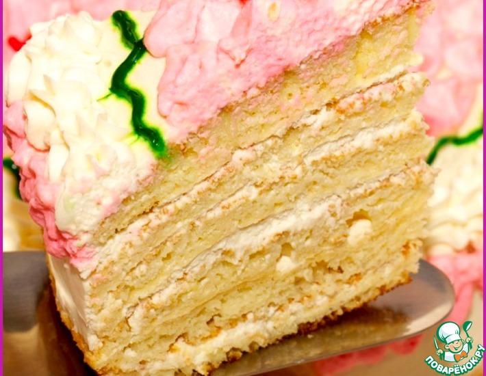Рецепт: Торт Молочная простушка на сковородке