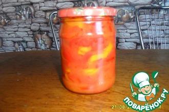 Рецепт: Перец в томате