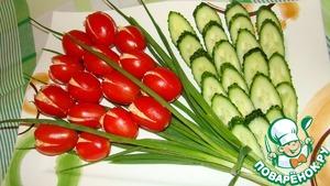 Рецепт Салат тюльпан