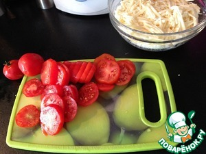 Пирог с помидорами и сыром | cook and clean