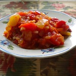 Салат с рисом на зиму без уксуса