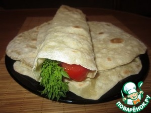 Рецепт Армянский лаваш в домашних условиях
