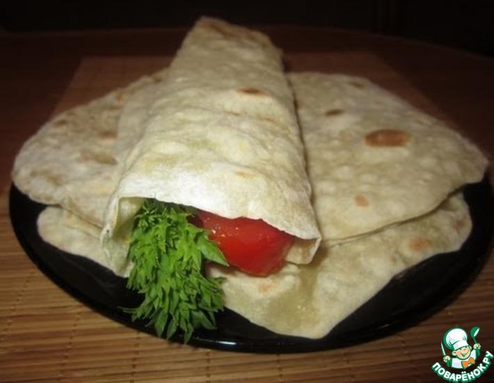 Рецепт: Армянский лаваш в домашних условиях
