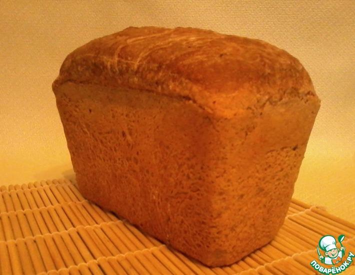 Рецепт: Хлеб гречневый
