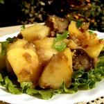 Гарнир из картофеля и баклажанов