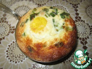 Тарталетки с беконом и яйцом – кулинарный рецепт