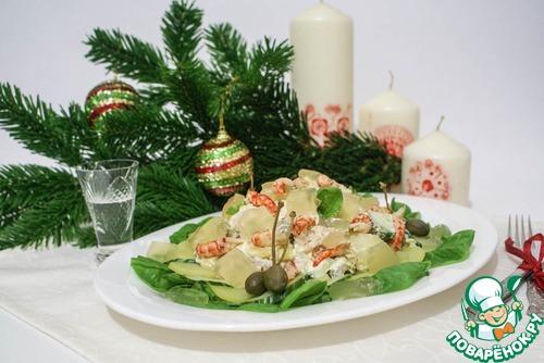Рецепт салата оливье 1894