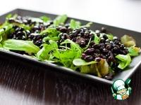 Кранч-салат с черной фасолью и тунцом ингредиенты