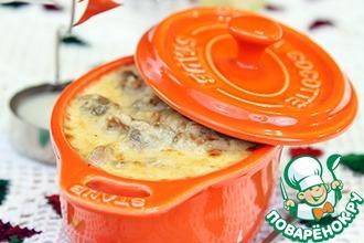 Рецепт: Запеченные морские гребешки