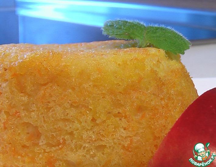 Рецепт: Тыквенно-яблочный пудинг