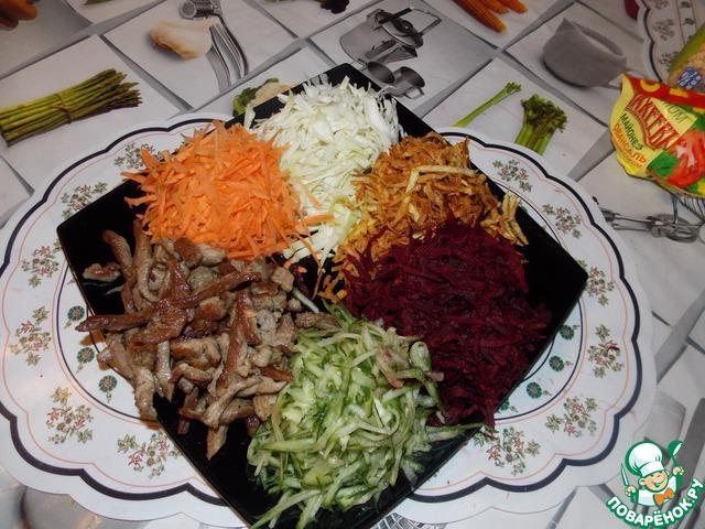 как приготовить салат аризона