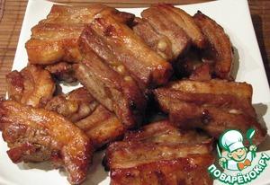 Pork in the sauce