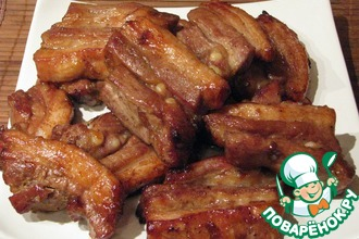 Рецепт: Свинина в соусе Хой Шин