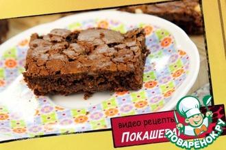 Рецепт: Брауни с орехами