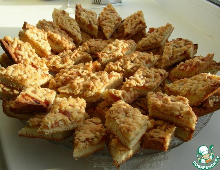 Рецепт: Печенье Ромбики
