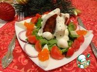 Тёплый салат По-щучьему велению ингредиенты