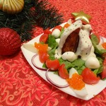 Тёплый салат По-щучьему велению
