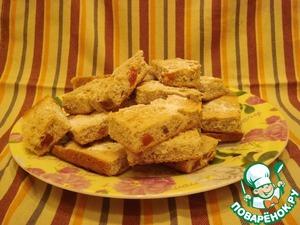Рецепт Быстрое печенье с курагой