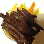 Шоколадно-апельсиновые пальчики
