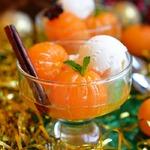 Новогодние мандарины в пряном сиропе