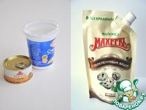 Кольца кальмаров в кляре с икорным соусом – кулинарный рецепт
