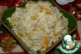 Рецепт: Салат из курицы с сельдереем