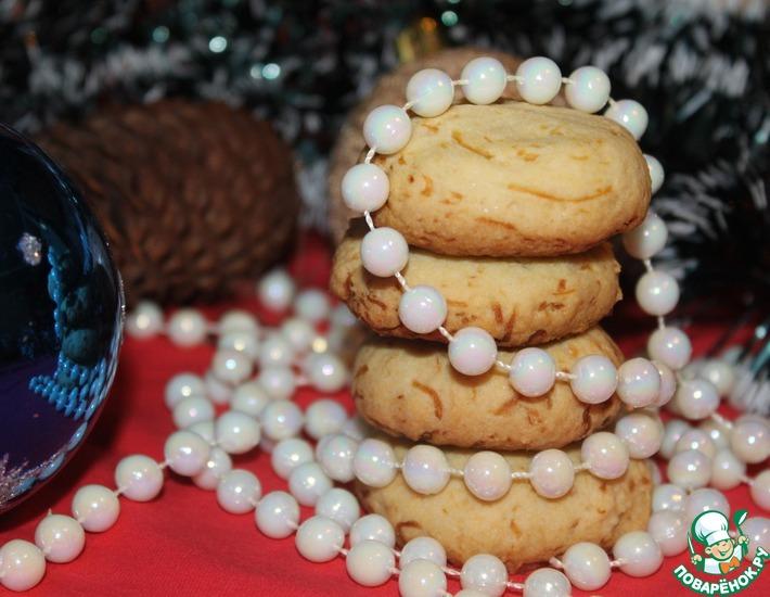 Рецепт: Кукурузное печенье Сюрприз