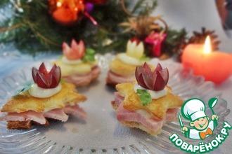 Рецепт: Сэндвичи для праздничного фуршета