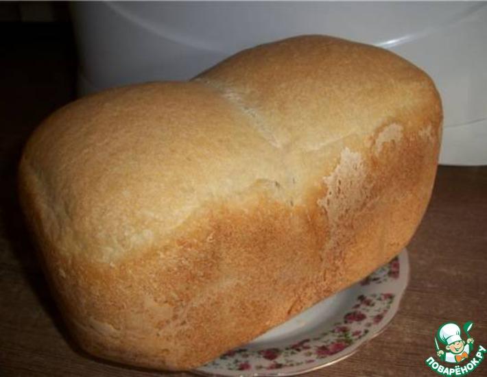 Рецепт: Рецепт белого хлеба