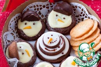 Рецепт: Три вида новогодней выпечки для подарка
