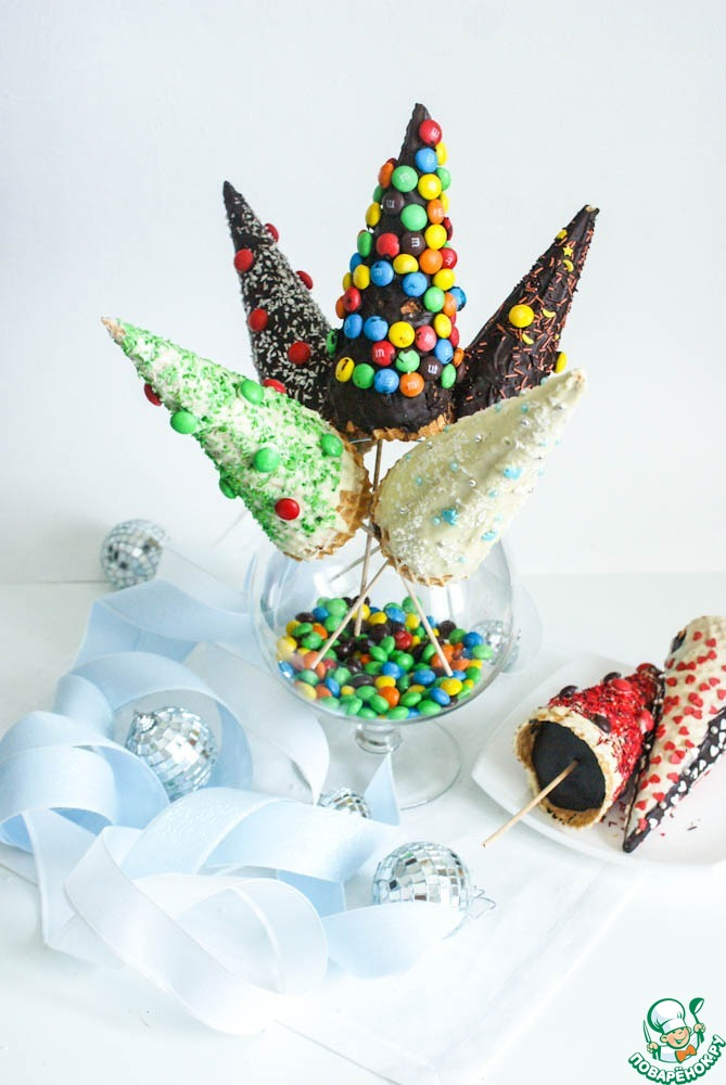 """Новогодние сладкие """"елки"""""""