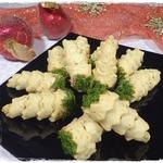 Ёлочки с начинкой из консервированного тунца