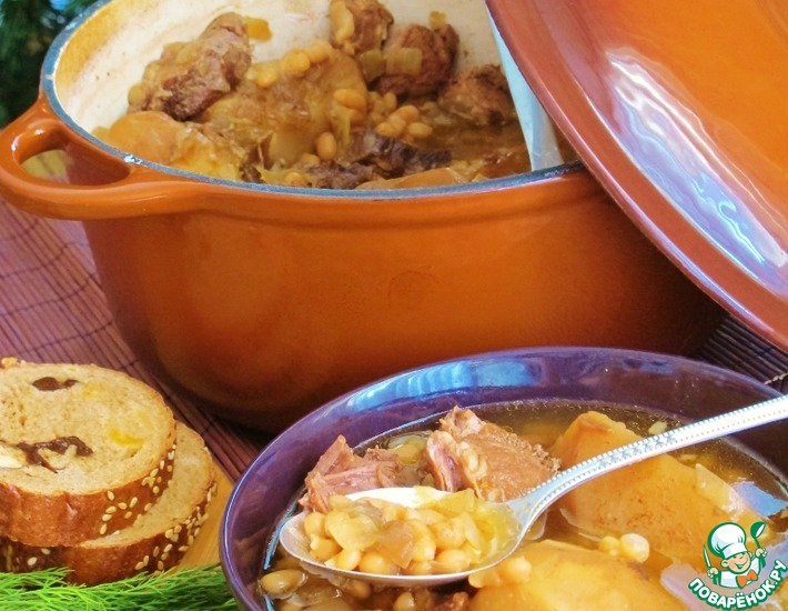 Рецепт: Субботнее блюдо Шолет