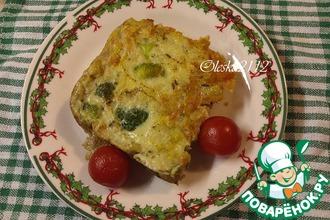 Рецепт: Омлет с брокколи