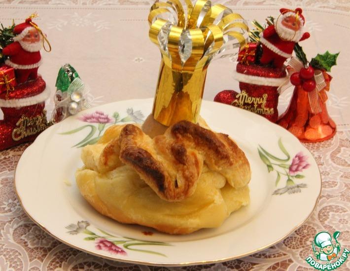 Рецепт: Горячее с курицей Королева