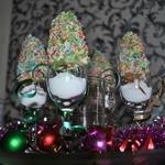 Кейк-попсы Новогодняя елочка