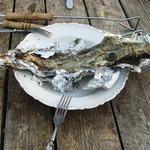Рыбка на костре