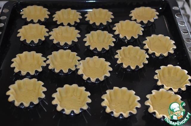 пирожные корзиночки рецепт