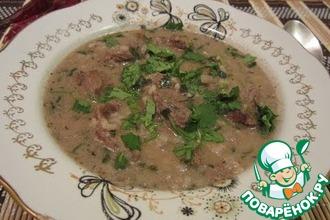 Рецепт: Суп Харчо по классическому рецепту
