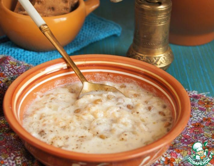 Рецепт: Йогуртовый суп по мотивам Эль-Рашуф